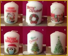5 cm Personalised Candle Christmas Teacher Teaching Assistant gifts (scented)