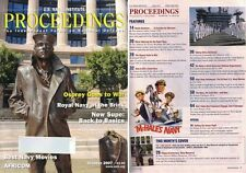 US Navy PROCEEDINGS Magazine Oct 2007 Osprey Goes to War, Best Navy Movies