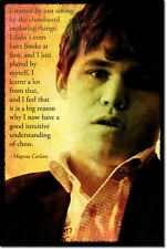 MAGNUS CARLSEN ART PHOTO PRINT POSTER GIFT CHESS QUOTE