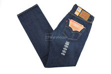Levis 501 Bernstean 33X34 005012219 Original Fit Classic Selvedge USA Dark Blue