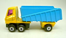 Matchbox Superfast Nr. 50B Articulated Truck blau & gelb dot-dash Räder