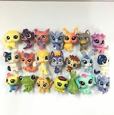 Random 10PCS LITTLEST PET SHOP LPS Mini Figure Cute Animals Cat dog Kid toys