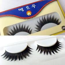 1 Pair Long Black Thick False Fake Eyelash Extension Eyelashes For Club Makeup