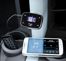 En voiture sans fil Lecteur Audio MP3 Transmetteur FM modulateur USB SD iPhone iPad Aux