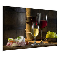 READY TO HANG Framed Canvas Prints Wall Art Painting Wine Picture Kitchen Decor