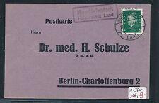 90616) DR   DDR Landpost Ra2 Huy-Neinstedt Halberstadt Land, Fa.-Karte 1931