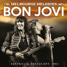 BON JOVI New Sealed 2016 UNRELEASED LIVE 1993 AUSTRALIA CONCERT CD