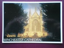 POSTCARD HAMPSHIRE WINCHESTER CATHEDRAL - WEST FRONT