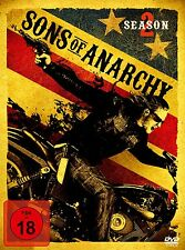 Sons of Anarchy - 2 Season / 2 Staffel - 4 DVD Box - Neu u. OVP - FSK 18