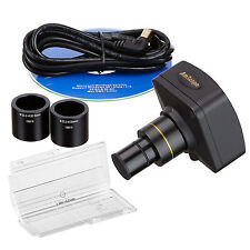 14MP USB2.0 Microscope USB Digital Camera + Advanced Software and Micrometer