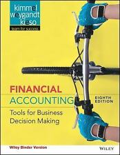 Financial Accounting, Binder Ready Version: Tools for Business Decision Making