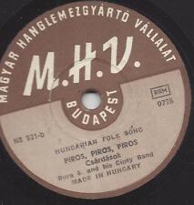 Bura S. Zigeunerorchester Ungarische Musik der 40er Jahre