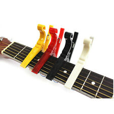 For Acoustic/Electric Ukulele Hot Quick Change Guitar Capo Tuner Clamp Tuning