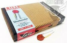 "Luxe 1961-1968 ""Red Dime"" Ceramic Disk Handmade Paper-In-Oil Capacitor Kit"