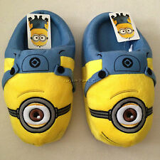 DESPICABLE ME MINION Plush Slippers Shoes Size Sandal UK 3-7, EU 34-40, US 5-9