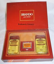 COFANETTO - BRANDO POUR HOMME EDC 100 ml + AFTER SHAVE LOTION 100 ml + SOAP 90 g