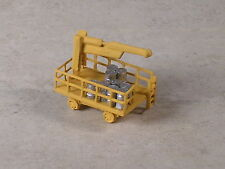N Scale MofW Track Yellow Cart for rail spikes