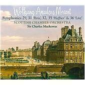 WOLFGANG AMADEUS MOZART SCOTTISH CHAMBER ORCHESTRA SIR CHARLES MACKERRAS CD SACD