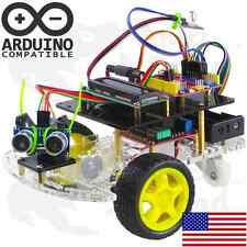 Arduino Programmable Robot Smart Car Bot Learning Starter Kit LCD Display Remote