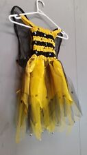 Childrens Fairy Bumble Bee Fancy Dress Up Costume Med