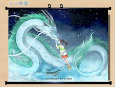 Spirited Away ogino chihiro and Nigihayami Kohakunushi Wall Scroll Poster