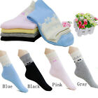 Candy Color Women Long Ankle Boat High Cut Dress Sport Socks Crew Casual Cotton