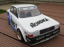 1/10 Volvo 240 Turbo Classic Group A Touring Car RC Body with decal 190mm 200m