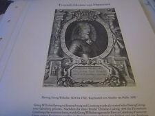 Hannover Archiv 6 Persönlichkeiten P 59 Herzog Georg Wilhelm 1624-1705 van Hulle