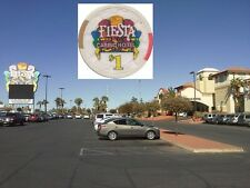 * FIESTA Casino Hotel - North Las Vegas 1 US Dollar $ Chip Roulette Black Jack