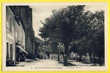 cpa Pas Courante Village de St AVIT SENIEUR (Dordogne) Le BOURG Café de la Poste