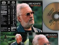 Ex++! LEE KONITZ Dig Dug Dog JAPAN PROMO DSD SACD w/OBI+16-p BOOKLET SRGS4515