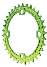 Race Face Single Narrow Wide 1x MTB Chainring - 104mm BCD 30t Green