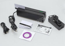 All 3 Track MSRE206 Magnetic Card Writer MINI300 Card Reader Data Collecter ISO
