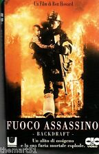 Fuoco assassino (1990) VHS  CIC 1a Ed - Ron Howard - NO Box