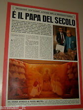 ALIGI SASSU pittore clipping articolo foto photo 1977 INTERVISTA