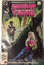 Comic LOT OF 2 SWAMPTHING 54 Nov 86 1986 97 Jul 1990 Moore Abin Sur Demon July