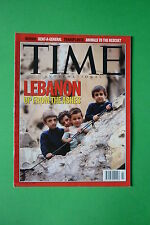 TIME rivista magazine JANUARY 15 1996 LEBANON UP FROM THE ASHES BOSNIA