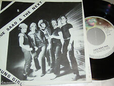"""7"""" - Sue Saad & The Next / Young Girl & Cold Night Rain - 1980"""