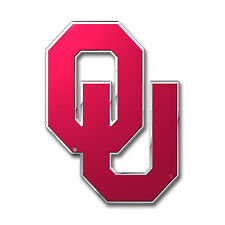 Oklahoma Sooners 3D Color Team Auto Home Emblem Decal by ProMark