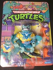 "PAT FRALEY Authentic Hand-Signed ""TMNT - RAY FILLET"" Vintage Figure EXACT PROOF"