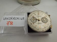 78 - Movimento landeron 48 chronographe suisse  sold for parts or repair