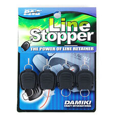 Damiki Fishing Line Stopper Keeper 4pcs Braided Line OK / Useful Tackle