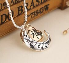 Heart Jewelry I Love You To The Moon And Back Mom Pendant Necklace