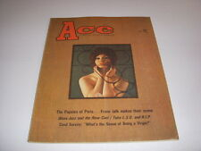 Ace Magazine, May, 1967, Popsies of Paris, L.S.D., Blues-Jazz, Men's Magazine!