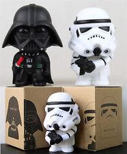 2Pcs Star Wars Darth Vader & Storm Trooper PVC Figures Set Dolls Toy Desks Decor
