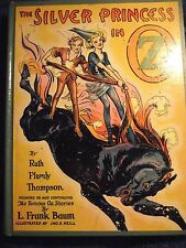 The Silver Princess In Oz by Ruth Plumly Thompson, (Baum) Handy Mandy on spine