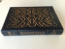 ROOSEVELT Lion and the FOX FULL Leather Binding EASTON PRESS Volume One