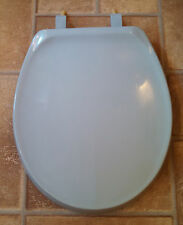 Beneke High Quality Solid Plastic Round Front Toilet Seat 420  Kohler HERON BLUE