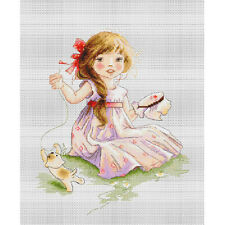 Cross Stitch Kit The Embroideress Luca-s Anchor threads