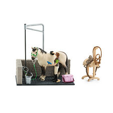 Schleich 42104 Horse Wash Area Horse Stable Farm Life Exclusive Horse